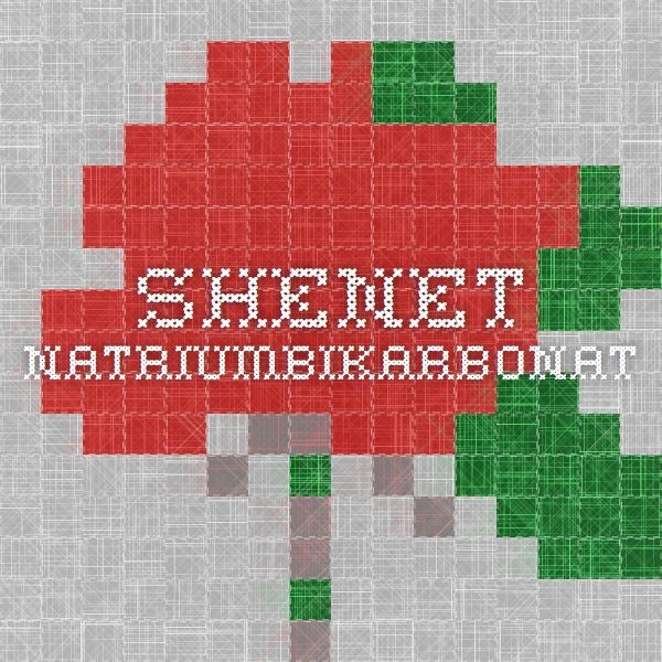 Shenet - Natriumbikarbonat