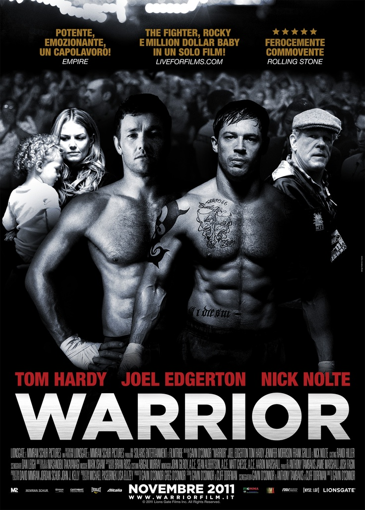 Warrior - Poster italiano  #M2Pictures #poster #film #cinema #Oscar #tomhardy