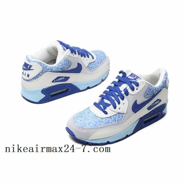 cool nike shoes for women | Cool Nike Air Max 90 2013 Jade Gray Blue Women