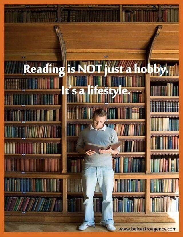 If you don't like reading, you haven't found the right book yet....