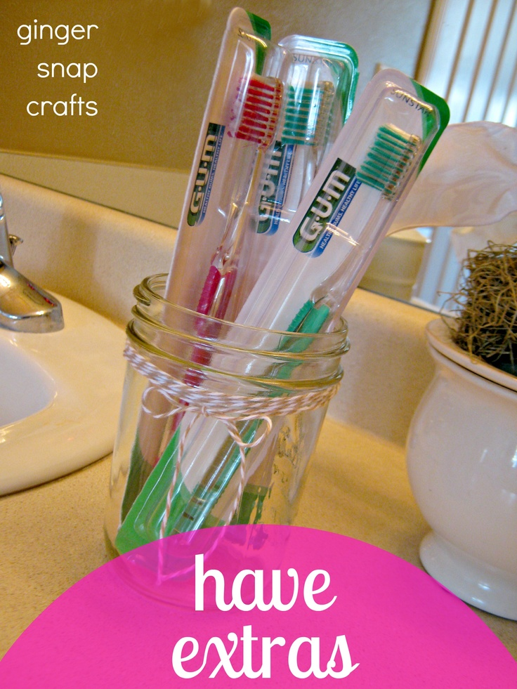Ginger Snap Crafts: {5} tips to get your bathroom guest ready #CGC #CleanHands