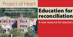 Project of heart is an interactive ebook by the BCTF.