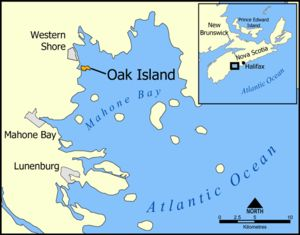Oak Island Money Pit. Mysterious 100 feet deep shaft which some believe is the hiding place of treasure from pirates or vikings. There are also links with Freemasonry which suggest Knights Templar involvement.
