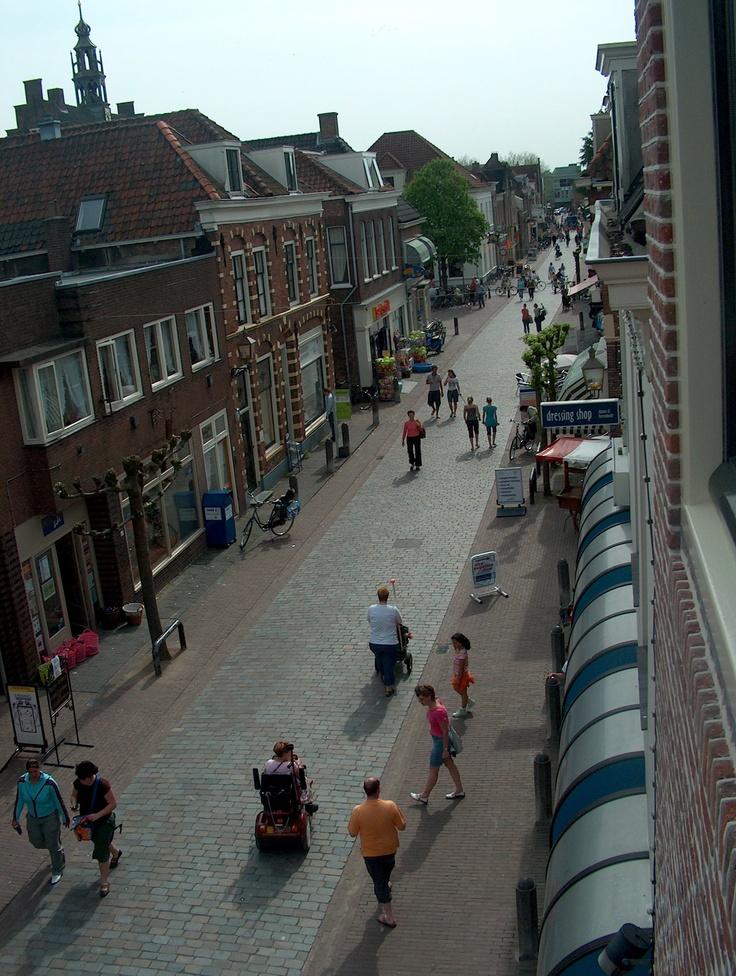 Utrechtsestraat in de binnenstad van IJsselstein