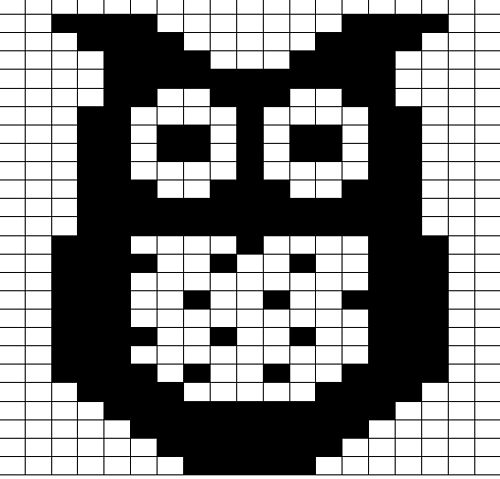 Ravelry: free owl chart pattern by Jo Ryan