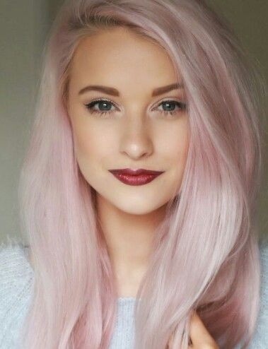 Pastel Pink. Hair Color | Hair Colour | Pinterest | Pastel ...