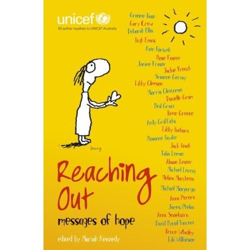 This book contains stories, poems and illustrations that have been donated by some of the most world's renowned and respected authors and illustrators, including Graeme Base, Jackie French, Michael Leunig, Bruce Whatley, Michael Morpurgo, Andy Griffiths, Anna Perera, Libby Gleeson, Melina Marchetta, Alison Lester, Morris Gleitzman and many more. See if it is available: http://www.library.cbhs.school.nz/oliver/libraryHome.do