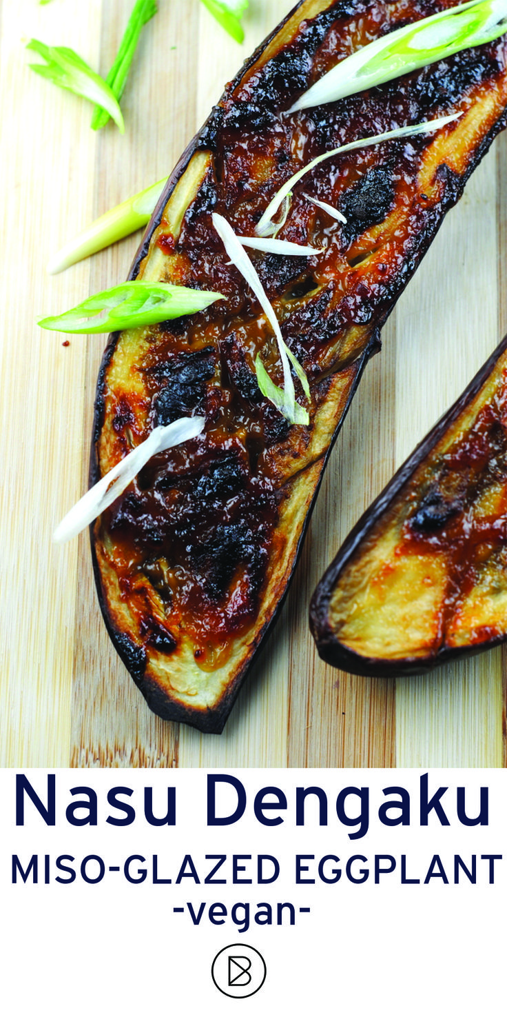 A popular Japanese preparation for eggplant. It's sweet and salty and all that good stuff! http://theblenderist.com