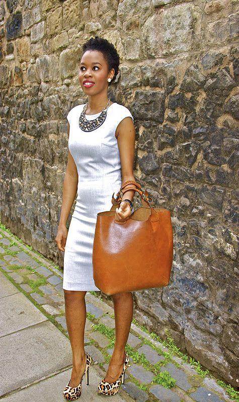 Love the Zara Bag & dress