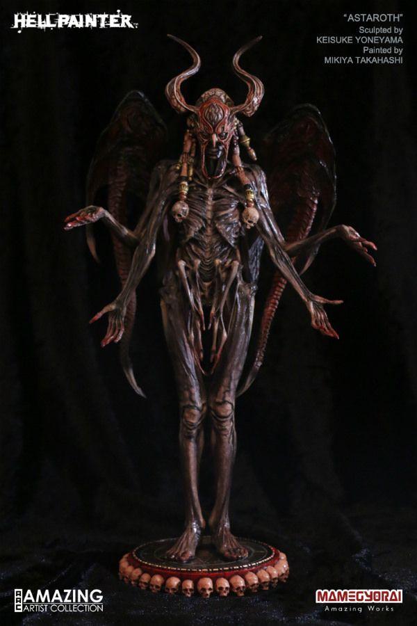 » HELLPAINTER – 所羅門七十二柱魔神 – 亞斯塔祿 | Alien concept art, Sculpture, Creature design