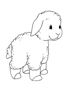sheep coloring pages for kids this section has a lot of sheep coloring pages for preschool kindergarten and kids free printable sheep colouring pages this - Sheep Coloring Pages