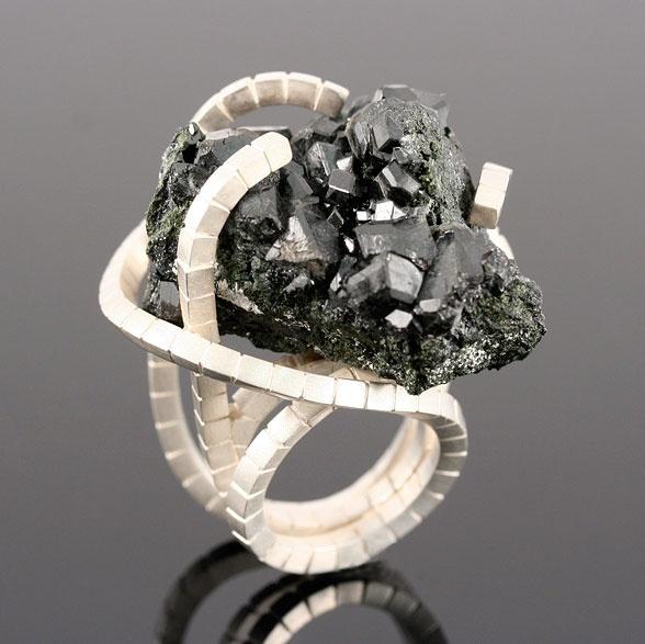 Nobuko Okumura- Silver/Cassiterite