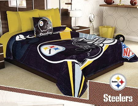 Cobertor Ligero NFL Steelers Excel