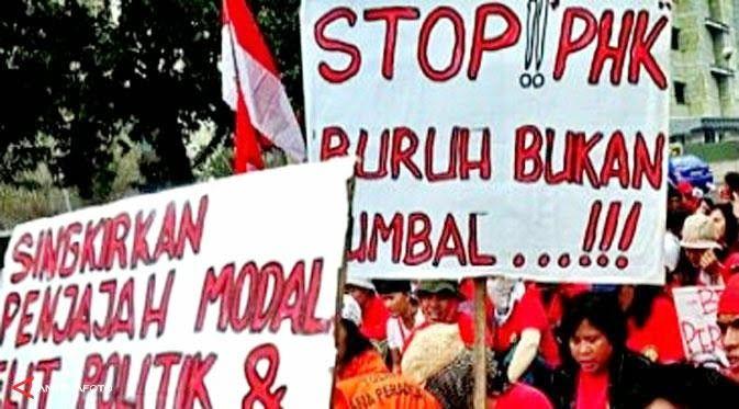 Hendri Teja: KEWIRAUSAHAAN DAN BURUH TER-PHK