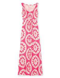 Jersey Maxi Dress (Tutti Frutti Large Woodblock)