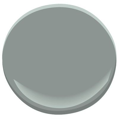 Stonybrook  (Benjamin Moore 1566)  dining room ceiling(only if going with Night Train on walls) just Inside the ceiling trim, outside the ceiling trim of your ceiling, revere pewter