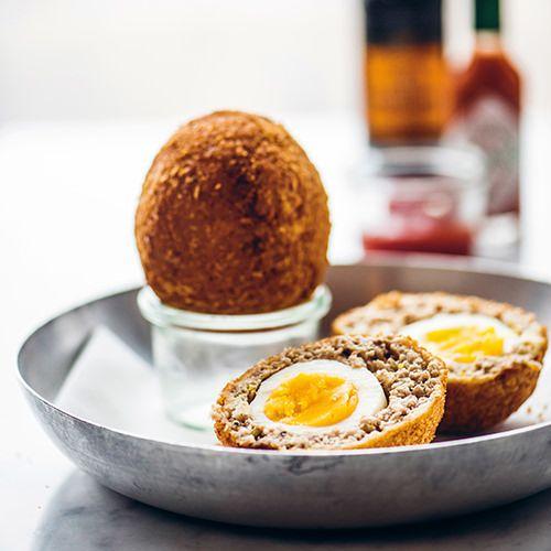 Schotse eieren - recept - okoko recepten