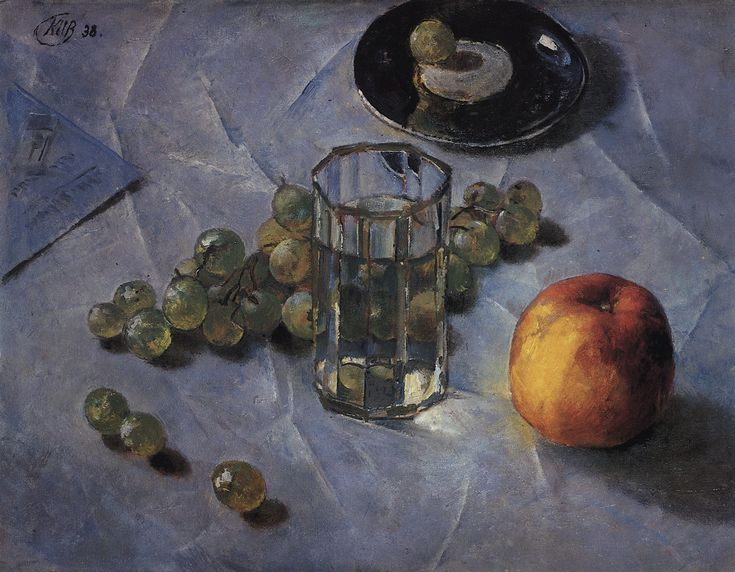 The Athenaeum - Grapes (Kuzma Petrov-Vodkin - )