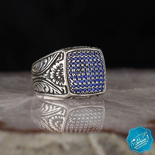 خاتم فضة مميز عيار الفضة 925 يمكنكم التواصل معنا على الرقم 00905558888033 خواتم فضه خاتم Rings Ring Islam Store متجر اسلام