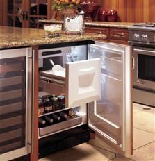 ZIBS240PSS - Bar Refrigerator Module - The GE Monogram Collection Bar fridge with ice maker