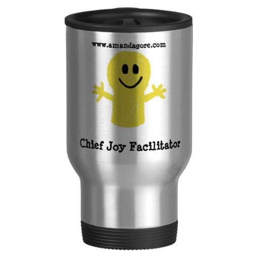 Chief Joy Facilitator Travel Mug