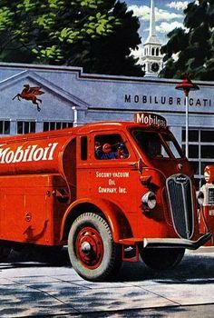 1945 Gas Delivery Truck