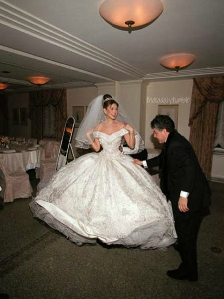 Thalia tommy mottola wedding