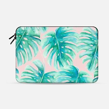 Macbook Air 13 Sleeve Paradise Palms Blush