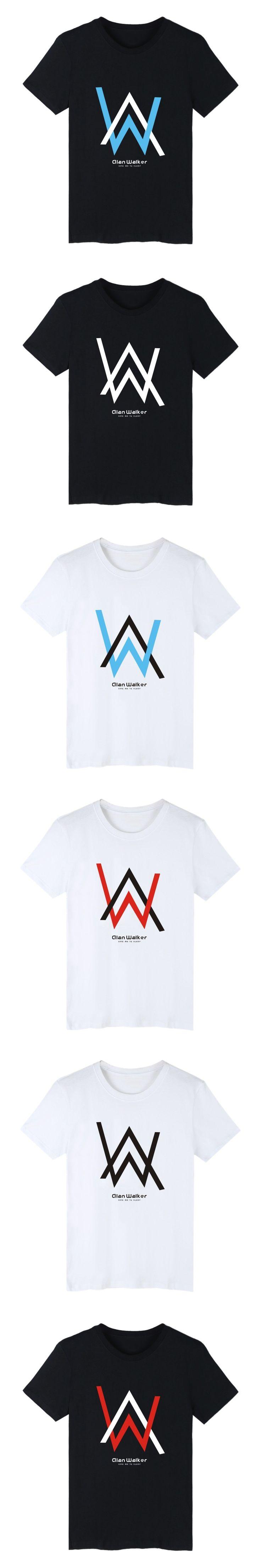 BATIGOL Alan Walker Singer Short Sleeve Tee Shirt Men Cotton Summer Tshirt Men Brand World Famous Electronic Music Tshirt Men