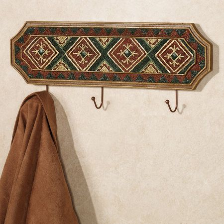 Tribal Spirit Southwest Wall Hook Rack