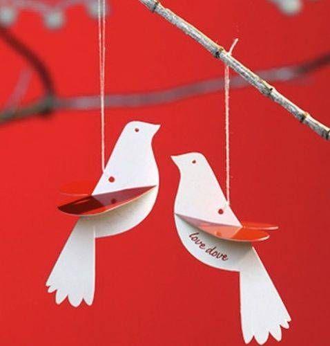 polli love dove ornaments photo