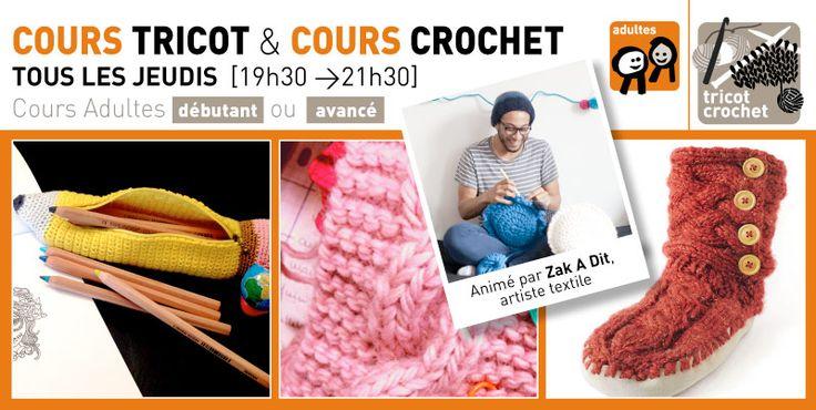Rrose selavy » NOUVEAU COURS > Crochet niveau «débutant» jeudi 03 décembre