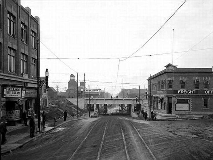 97 St. underpass, 1930.