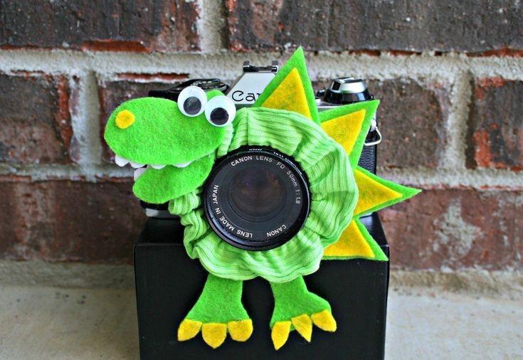как сшить игрушку на объектив фотоаппарата дпс