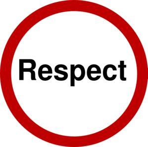 I  always respectful because it is always important to respect grownups.