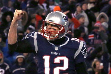 Patriots Rout the Titans to Reach Their 7th Straight A.F.C. Title Game