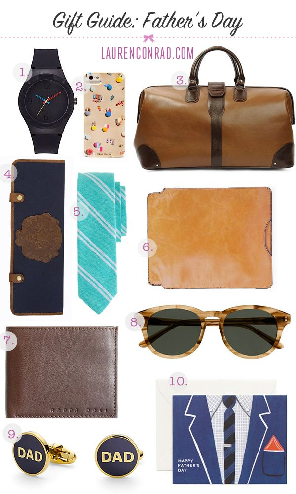 lauren conrad father's day gifts