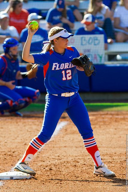 Love this picture... gators, softball, the colors are pure