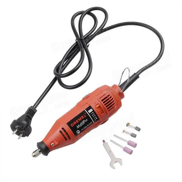 Dremel Red 220V Electric Grinder Variable Speed Rotary Power Tool Sale - Banggood.com