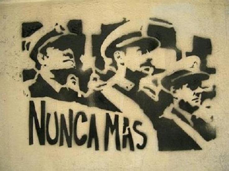 Argentina: dictadura, NUNCA MÁS!