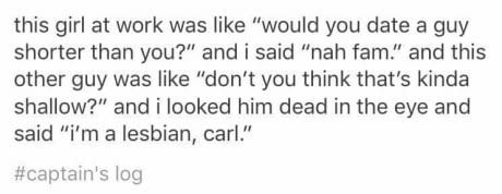 Open your mind, Carl.<<< Damn it Carl this is the sixth time this week<---CARL! That kills people