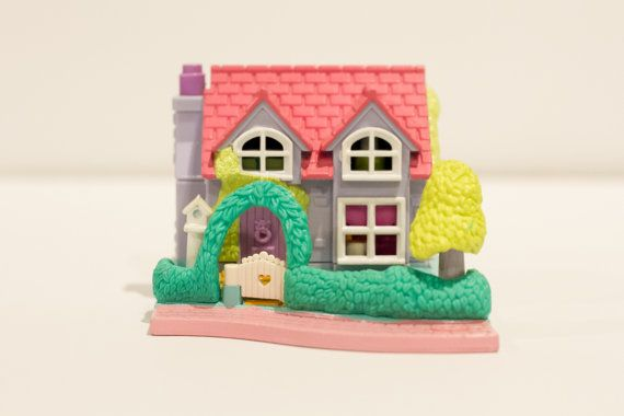 1995 Vintage Polly Pocket - Complete - Dance Studio - Pollyville (Bluebird Toys)