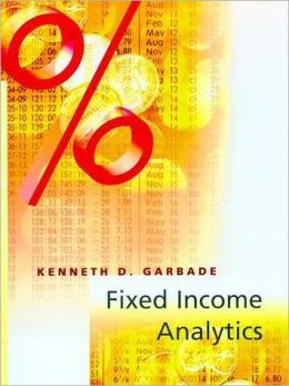 Divided into four parts, Fixed Income Analytics presents quantitative methodologies for the analysis of fixed income securities, such as U.S. Treasury bills, notes, bonds, and STRIPS that have no credit risk. Examined in part I are basic concepts of bond yield and bond duration...Cote : 5-71 GAR