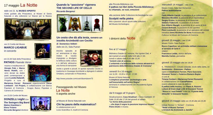 Cecilio presente per La Notte dei Musei Cremona 17 maggio 2014