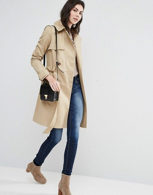 ASOS TALL Classic Trench Coat €73.33 Free Delivery & Returns* COLOUR: Stone