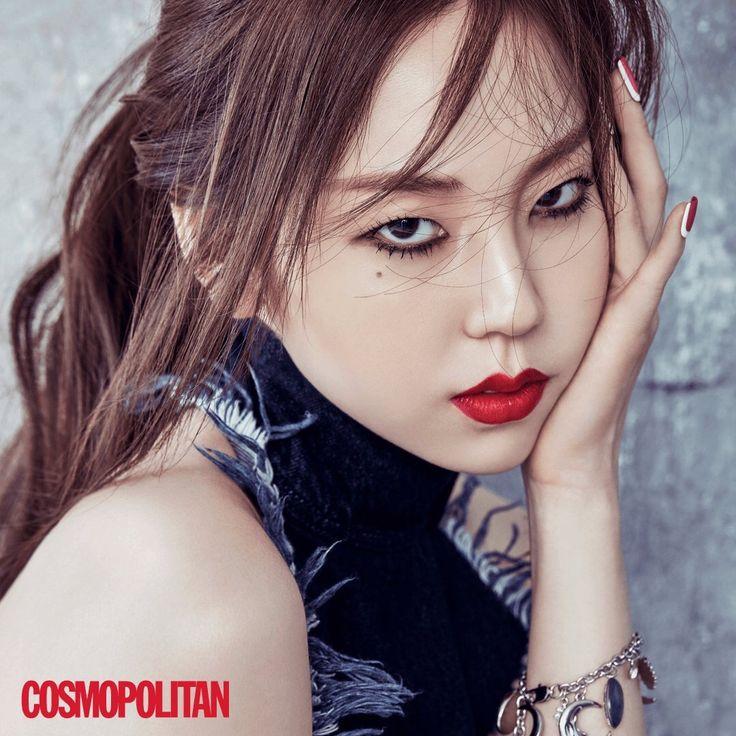 """wgfor-magazine: """"Ahn Sohee for Cosmopolitan Magazine August 2016 Issue """""""
