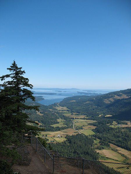 View From Mount Maxwell at Saltspring Island, BC-One of my most favorite places on Earth :)