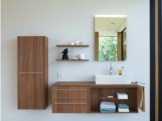 Casa de banho completa de madeira X - LARGE   Casa de banho completa - DURAVIT