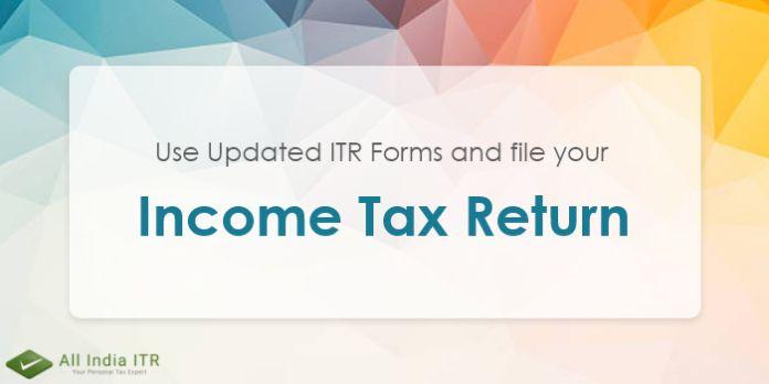 Pin by All India ITR on Tax Return tax