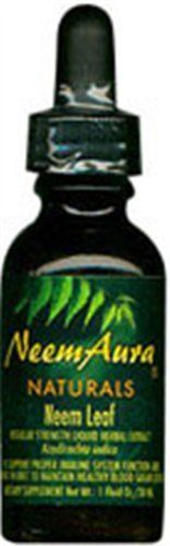 Neem Leaf Extract Organic 1 Ounces by Neem Aura. Save 35 Off!. $8.46. 1 Ounces Liquid. Serving Size:. Neem Leaf Extract:We supply our extract in both a regular strength and triple-potency form. These alcohol extracts are made under our direct control in small batches to assure the highest quality result. Our original regular strength extract utilizes a 1:15 dry herb to menstruum ratio. Triple potency utilizes a 1:5 ratio. An extract is the fastest way to get neem to work in your body a...